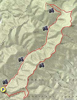 100 mile wilderness map pdf