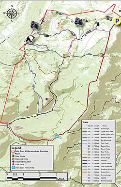 Dolly Sods Map Dolly Sods North Hike