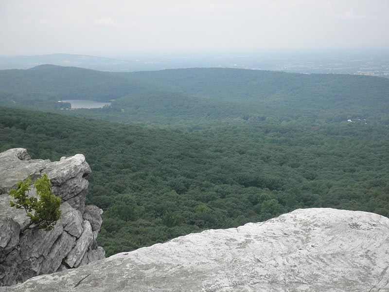 From Annapolis Rock the vista Annapolis
