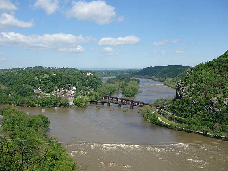 Hike Loudon Heights Trails Harpers Ferry WV, Lunch ...