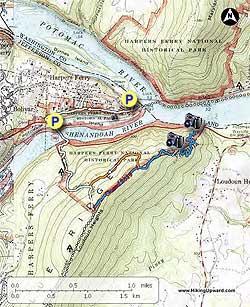 Harpers FerryLoudoun Heights Hike
