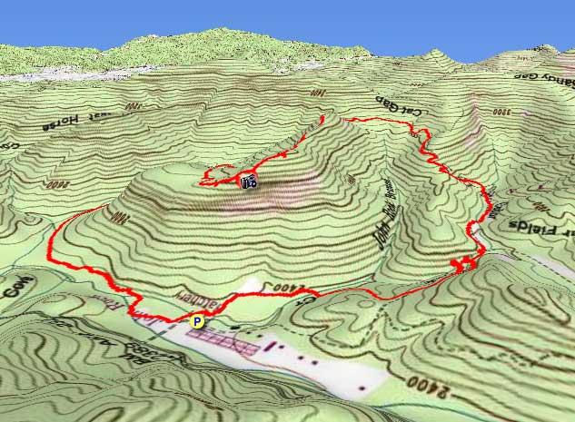 Pisgah Forest Nc Map.John Rock And Cedar Rock Falls Hike