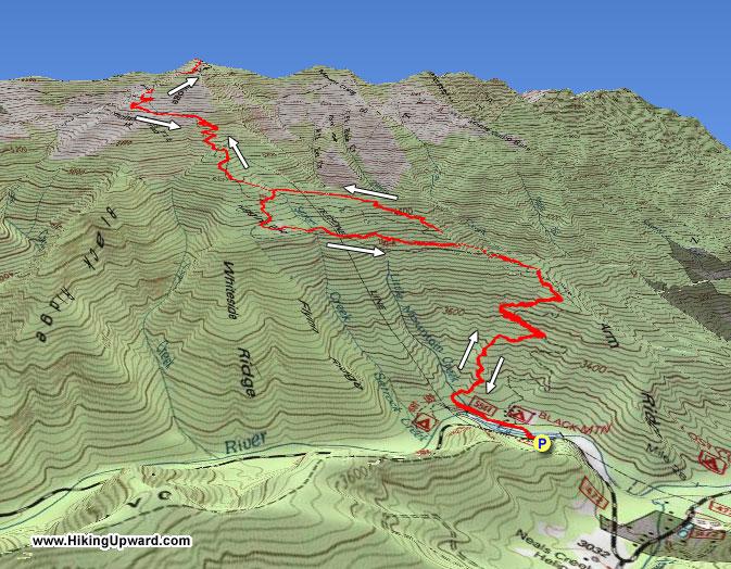 Mt  Mitchell Hike