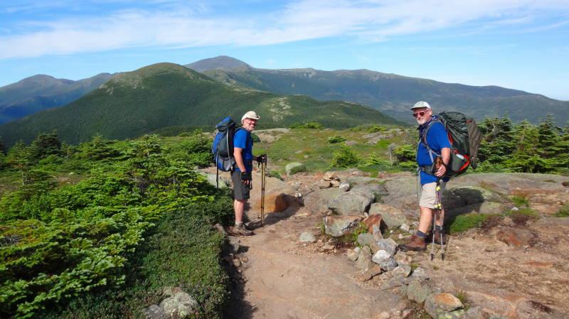 Jewell Trail Mt Washington Map.Presidentials Hike